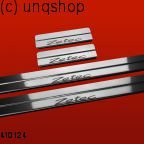 Door sills (Zetec) Ford Fiesta Mk7 , only for 5 doors Prefacelift