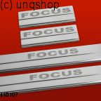 Door sills (Focus) Ford Focus Mk2 , only for 5 doors