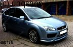 Front splitter bumper lip spoiler valance add on Ford Focus MK2 , only for Prefacelift