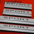 Door sills (SPORT) Ford Focus Mk3 , only for Prefacelift