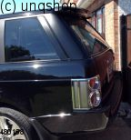 Roof spoiler LAND ROVER Range Rover Mk3 L322 , only for Vogue