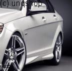 Side skirts Mercedes C W204