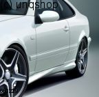 Side skirts Mercedes CLK W208
