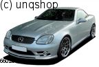Front bumper (with foglights) Mercedes SLK R170