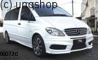 Front bumper Mercedes Vito Mk2 W639 , only for Prefacelift