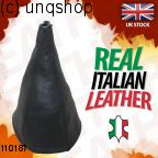 Leather Gear Gaiter (Black with black stitch) Rover 200 Mk3 R3
