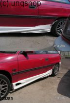 Side skirts (Radical) Vauxhall/Opel Astra Mk3/F/I , only for 3 doors
