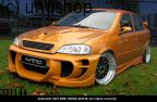 Front bumper (X-TREME) Vauxhall/Opel Astra Mk4/G/II