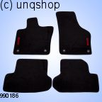 Car Mats (BEETLE) VW BEETLE  , only for EURO LHD
