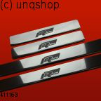 Door sills (RLINE) VW Polo Mk5 6R , only for 5 doors