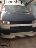 Front splitter bumper lip spoiler valance add on VW T4  , only for Prefacelift