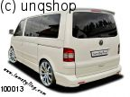 Rear bumper corners add ons VW T5